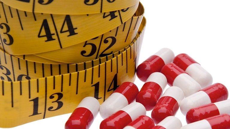 Uống thuốc giảm cân không mang lại hiệu quả cao