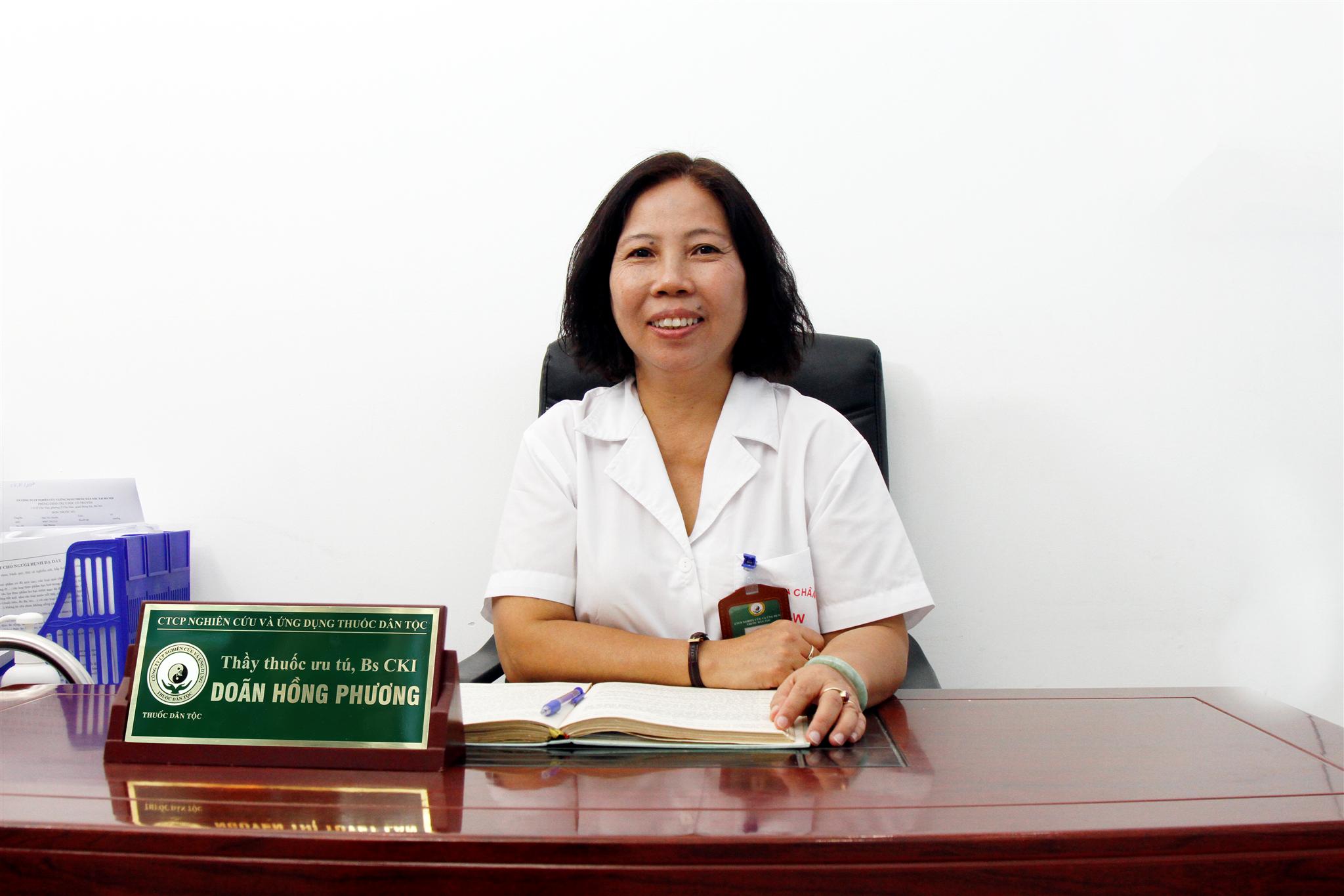 Thầy thuốc ưu tú, Bác sĩ Doãn Hồng Phương