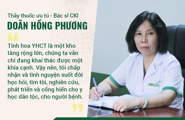 Bác sĩ Phương không ngừng nỗ lực, cống hiến cho nền y học dân tộc
