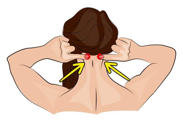 Bấm huyệt chữa đau đầu dựa trên quy tắc của Y học cổ truyền