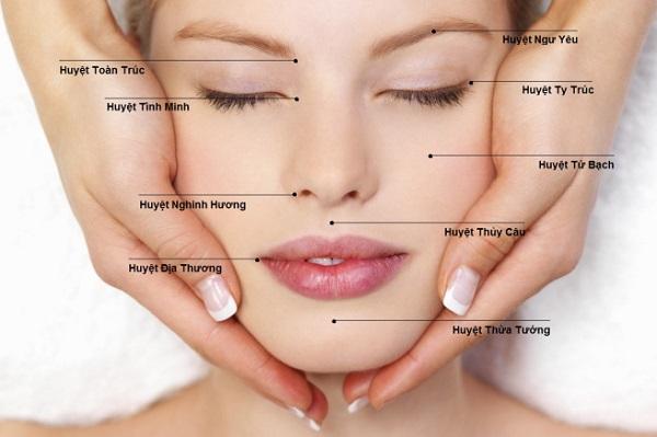 Bấm huyệt chữa mặt lệch mang lại hiệu quả cao.