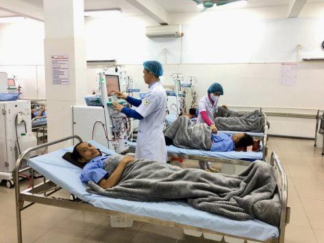 Châm cứu bấm huyệt tại bệnh viện Y học Cổ truyền tỉnh Bắc Ninh