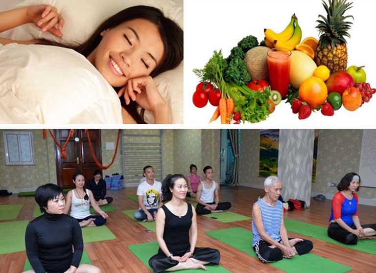 Bệnh nhân cần ăn uống, nghỉ ngơi, sinh hoạt hợp lý để suy nhược thần kinh không tái phát