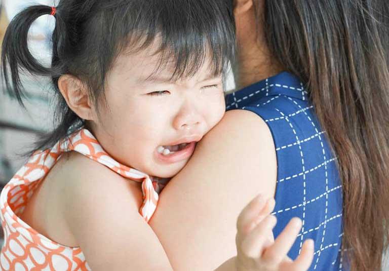 Trẻ nhỏ là đối tượng dễ bị ảnh hưởng lo sợ bởi tâm lý chia ly