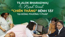 TS ALok chữa bệnh bằng Vật lý trị liệu tại Đông phương Y pháp