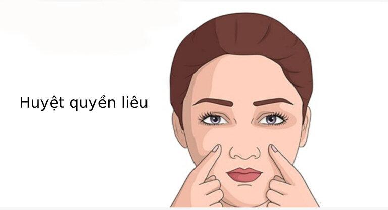 Những tác dụng của biện pháp bấm huyệt nâng cơ mặt.