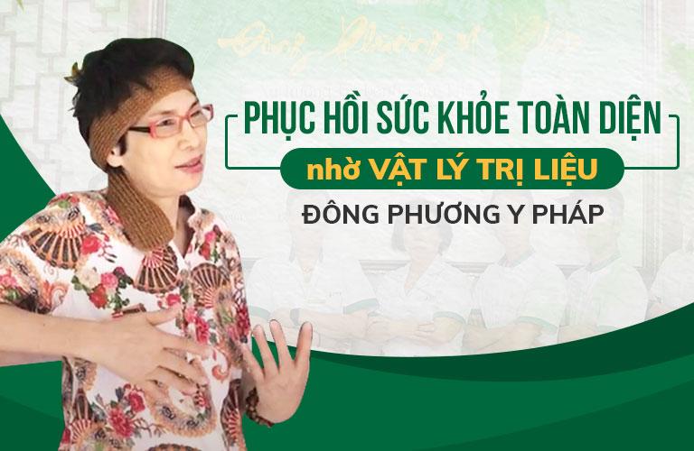 Hiệu quả phục hồi tích cực sau khi cô Hà kết thúc liệu trình châm cứu bấm huyệt tại Đông phương Y pháp
