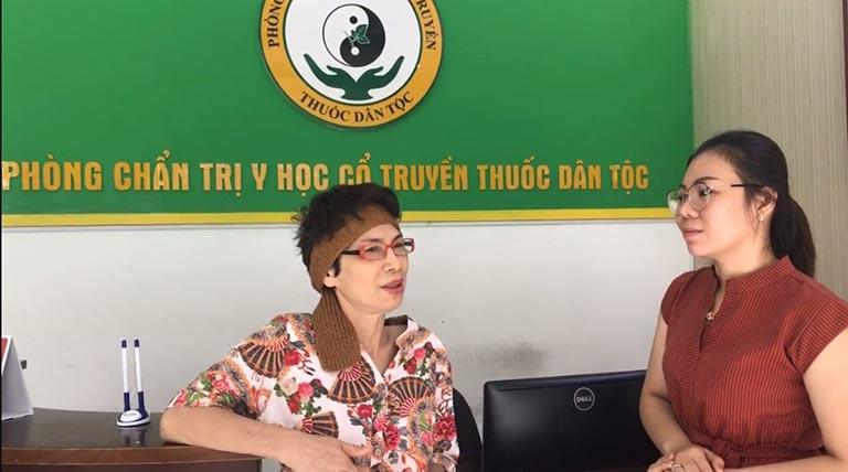 Cô Lâm Thị Hà chia sẻ về hành trình điều trị bệnh bằng châm cứu bấm huyệt tại Đông phương Y pháp
