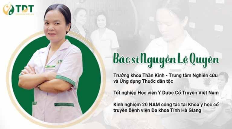 Chân dung BS Nguyễn Lệ Quyên - Chuyên gia YHCT tại Đông phương Y pháp