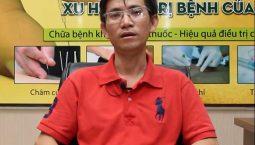 Anh Trần Ngọc Tâm bị viêm cột sống dính khớp trong 7 năm liền
