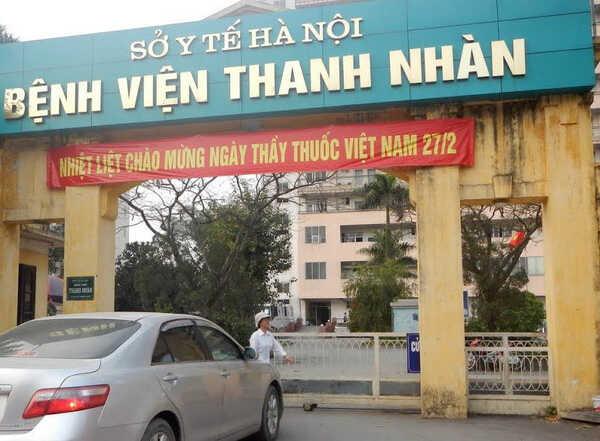 Bệnh viện Thanh Nhàn cũng là nơi bấm huyệt trị đau đầu rất tốt