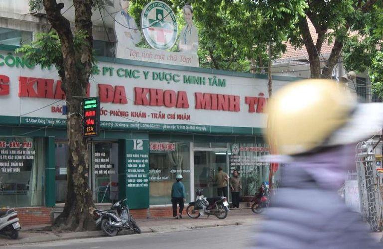 Địa điểm bấm huyệt bàn chân: Phòng khám Đông y Minh Tâm Đường
