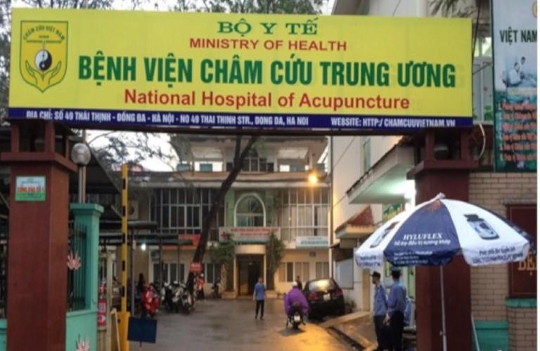 Địa điểm bấm huyệt bàn chân: Bệnh viện Châm cứu Trung ương