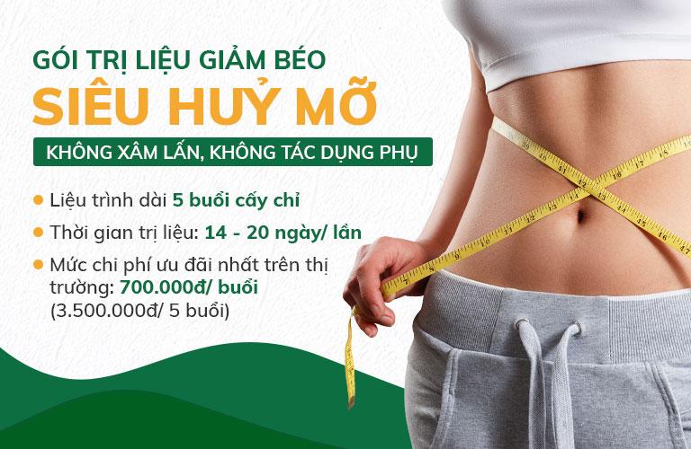 Những ưu đãi đặc biệt của gói trị liệu giảm béo Đông phương Y pháp