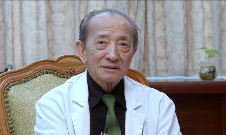 Giáo sư, thầy thuốc nhân dân Nguyễn Tài Thu