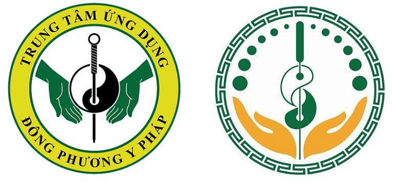 Hình ảnh Logo cũ và mới của Trung tâm Ứng dụng Đông phương Y pháp