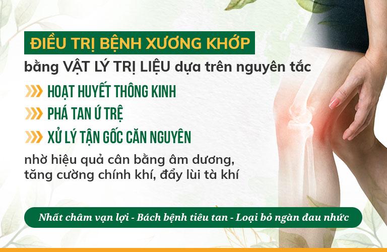 Nguyên tắc chữa thoái hóa, đau nhức xương khớp