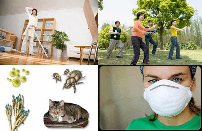 Một số biện pháp phòng tránh viêm mũi dị ứng