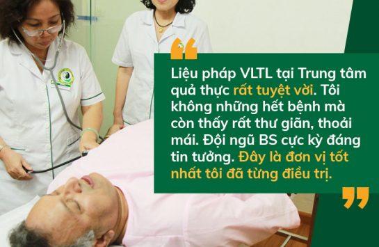 Tiến sĩ Alok đánh giá về Vật lý trị liệu Đông phương Y pháp