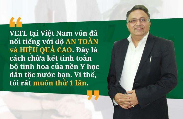 Nhận định của Tiến sĩ Alok về Vật lý trị liệu Việt Nam