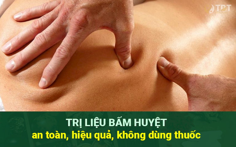 Bấm huyệt - phương pháp trị liệu an toàn, hiệu quả