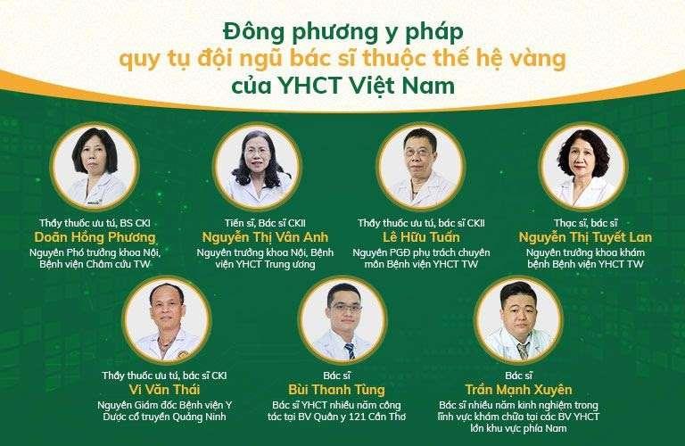 Đội ngũ Bác sĩ giàu chuyên môn, kinh nghiệm tại ĐPYP