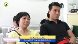 Cô Ngô Thanh Tâm điều trị khỏi căn bệnh đau cột sống thắt lưng tại Trung tâm Đông phương Y pháp