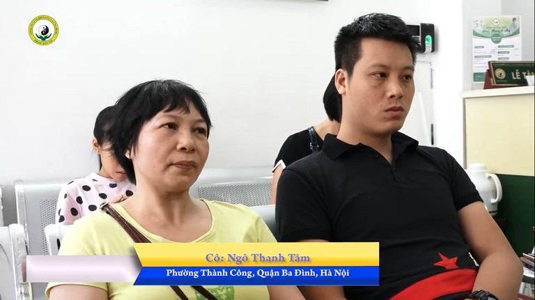 Anh Nguyễn Ngọc Huy và mẹ đến Đông phương Y pháp