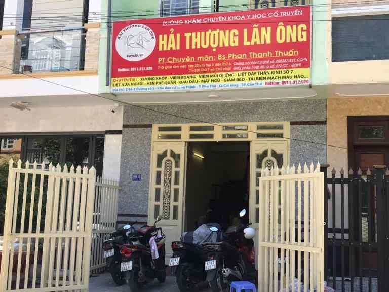 Châm cứu bấm huyệt tại Hà Nội - Phòng khám Hải thượng Lãn Ông