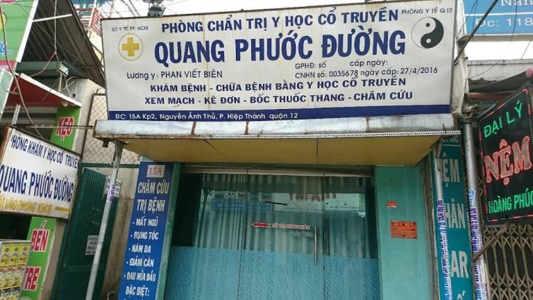 Phòng châm cứu quận 12 - Phòng khám YHCT Quang Phước Đường