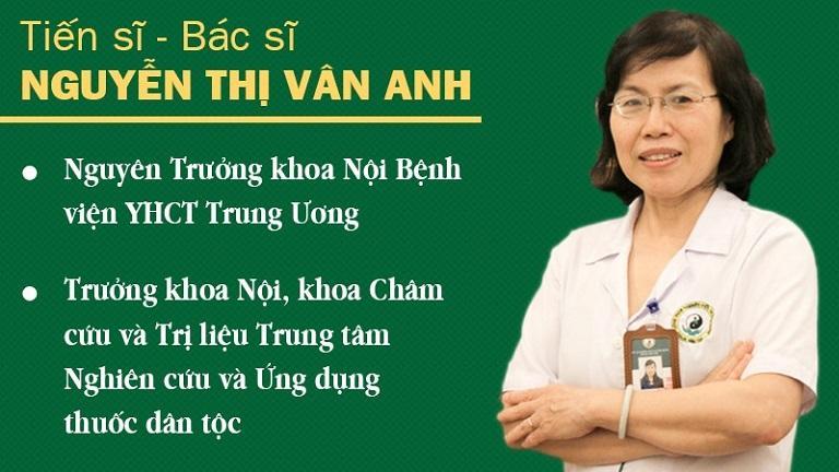 Bác sĩ Vân Anh - Cố vấn chuyên môn Đông phương Y pháp