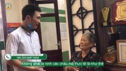 [Feedback] Bệnh nhân cao tuổi khen ngợi cho chất lượng dịch vụ tại Đông phương Y pháp
