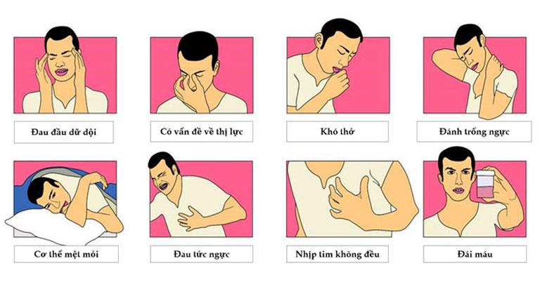 Dấu hiệu người bệnh bị huyết áp cao