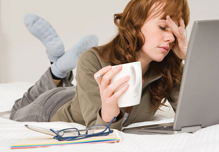 Căng thẳng kéo dài ảnh hưởng nội tiết tố, chu kỳ bị ảnh hưởng