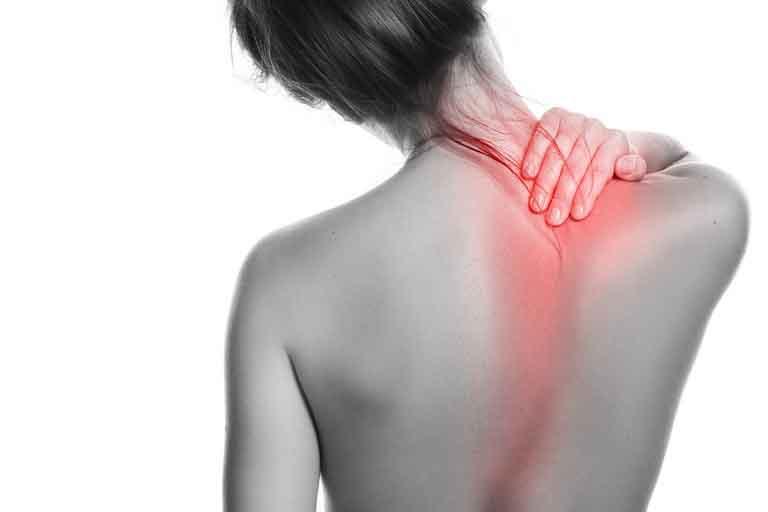 Huyệt Đốc Du thường được tác động để trị đau vai gáy