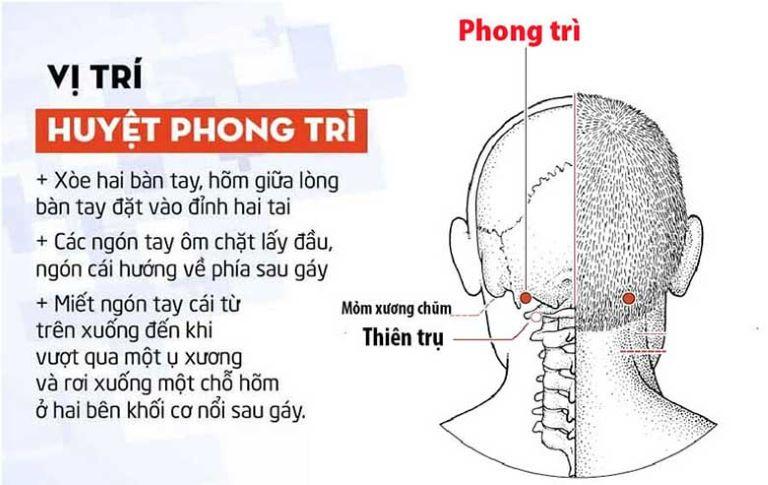 Cách xác định vị trí Phong Trì