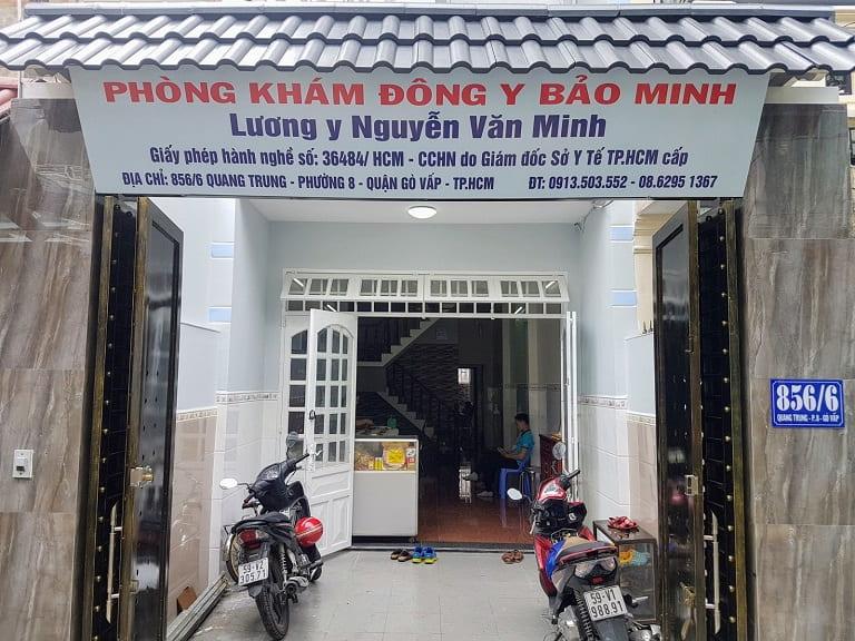 Phòng khám Đông Y Bảo Minh với dịch vụ châm cứu tại Gò Vấp