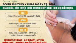 Gói trị liệu tại nhà Đông phương Y pháp