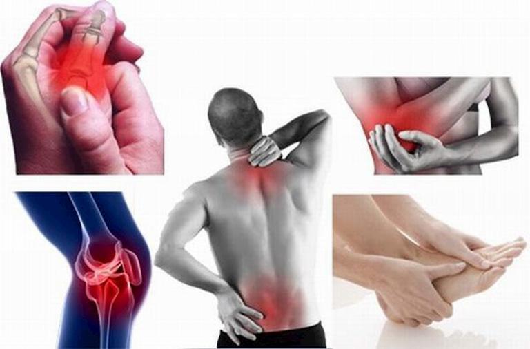 Tình trạng đau nhức xương khớp