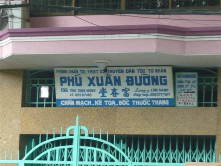 Phòng chẩn trị y học dân tộc Phú Xuân Đường
