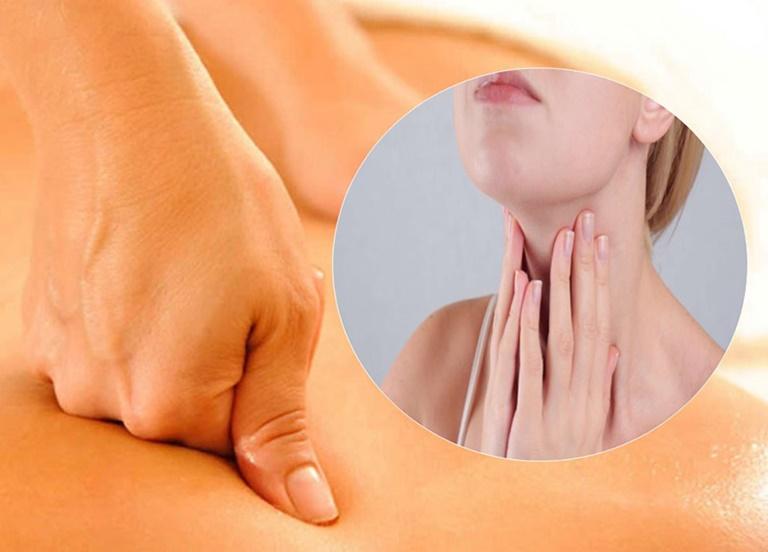 Bấm huyệt chữa viêm họng mang lại hiệu quả cao