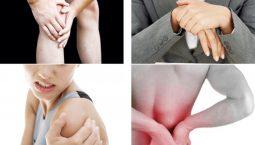 Đau nhức xương khớp ở người trẻ thường xuất hiện ở vùng vai gáy, lưng, đầu gối và cổ tay