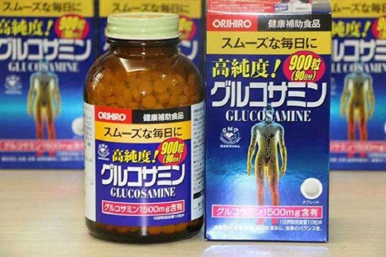Thuốc thoát vị đĩa đệm Glucosamine Orihiro Nhật Bản