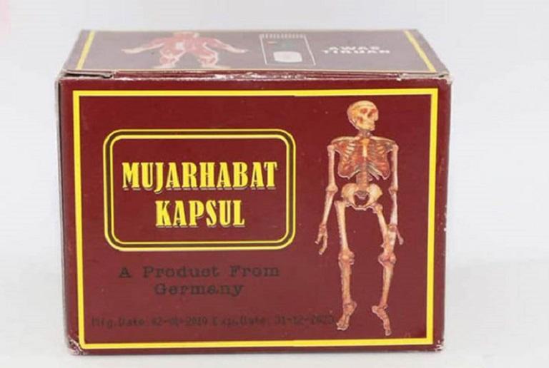 Thực phẩm chức năng Mujarhabat Kapsul