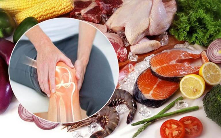 Chế độ dinh dưỡng có thể hỗ trợ điều trị thoái hóa khớp hiệu quả