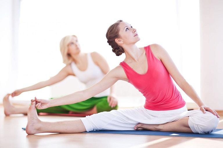 Bài tập yoga có tác dụng giảm đau mỏi vai gáy
