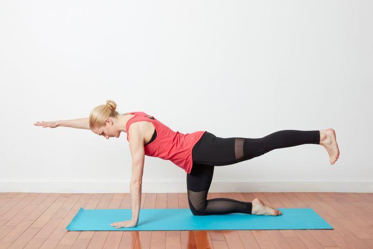 Bài tập Bird Dog có tác dụng làm mạnh các khối cơ phía sau cột sống lưng.