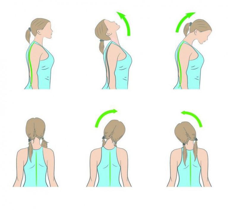 Tập thể dục vùng đầu cổ thường xuyên giúp cải thiện cơn đau cổ