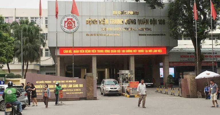 Bệnh viện quân đội 108 - Địa chỉ khám đau dây thần kinh liên sườn tại Hà Nội
