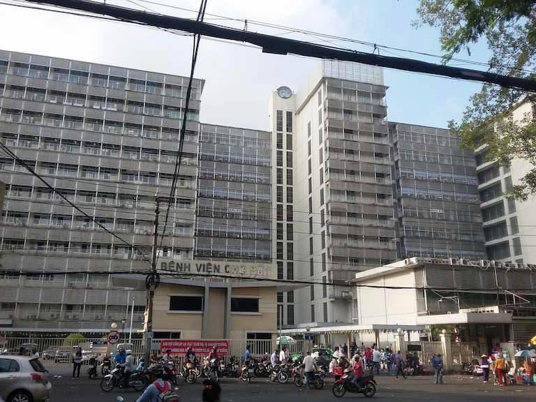 Bệnh viện Chợ Rẫy - TP. Hồ Chí Minh